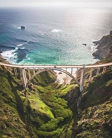Bixby bridge, California.