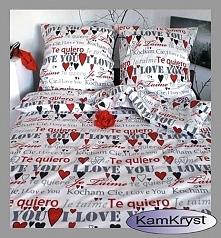 Pościel satynowa - satyna bawełniana wykonana ze 100% bawełny - pościel nie tylko dla zakochanych