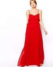 czerwona sukienka Mango