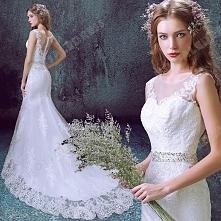 Mermaid Trumpet Diamond Lace Sweetheart Bride Wedding Dress 2016 New