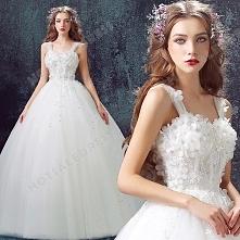 Sweet Princess Bride Diamond Flower Lace tutu 2016 New Custom Made Wedding Dress