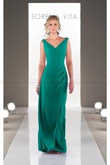 Sorella Vita V-Neck Bridesmaid Dress Style 8576