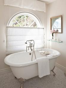 Romantyczna łazienka u Pani Dyrektor- zapraszam po niezwykłe inspiracje w kol...