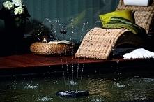 Fontanna ogrodowa do małych oczek wodnych