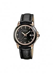 Zegarek damski na pasku z kamieniami Swarovskiego Casio Sheen SHE-4507GL-1A  Możliwość zakupu, link w komentarzu :)