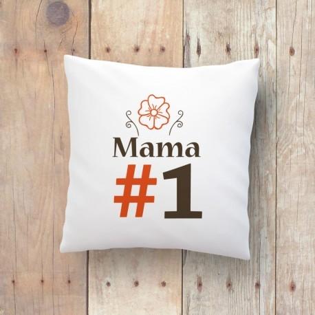 Poduszka z nadrukiem Mama nr 1 Dostępna na littlethings.pl