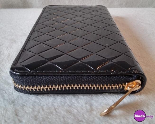 Czarny pikowany portfel <3 Dostępny w promocyjnej cenie :)   Możliwość zamówienia po kliknięciu w zdjęcie lub na modoway.pl <3
