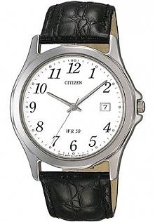 Zegarek męski na skórzanym pasku Citizen BI0740-02A  Możliwość zakupu, link w komentarzu :)