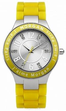Zegarek damski żółty idealny na lato Morgan M1146Y  Możliwość zakupu, link w komentarzu :)