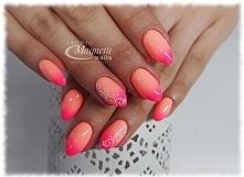 Strawberry Margarita I Whops!   Nails by Monika, Studio Magnetic Nails Monika Sokołowska Kielce, SPN Instructor