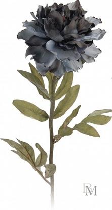 Dekoracyjny kwiat piwonia o długości 69 cm.   Doskonale nada się jako dodatek do Twoich pomieszczeń.