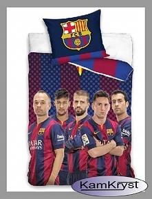 Pościel FC Barcelona - pościel z najlepszymi piłkarzami Barcelony idealna dla każdego kibica Barcy