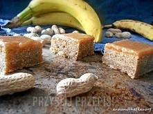 bananowe blondies . Składniki Ciasto: 100 g masła 1 szklanka cukru brązowego ...