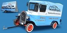 Samochody reklamowe w staro...