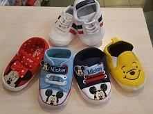 Śliczne buciki niemowlęce