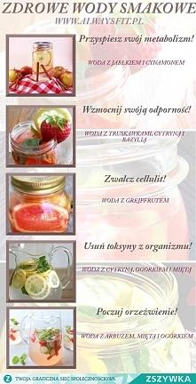 zdrowe wody owocowe bez dodatków smakowych