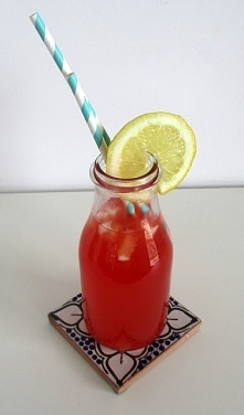 Lemoniada rabarbarowo- lawe...