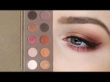 Makijaż paletą Zoeva Cocoa Blend