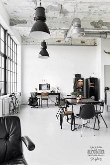 Wnętrze w stylu industrialnym to wnętrze surowe, niedopracowane, to wnętrze s...