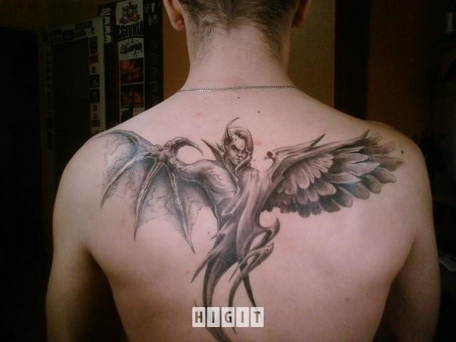 Anioł śmierci Na Tattoo Zszywkapl