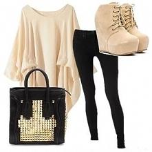 Luźny i słodki styl :)