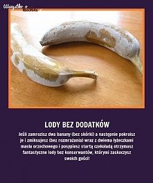 lody z banana