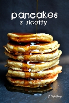 Puszyste pancakes z ricotty. Przepis po kliknięciu w zdjęcie!
