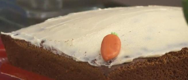 Ciasto marchewkowe-sprawdzone :)  zamiast orzechów dodałam rodzinki i słonecznik PYCHA :)