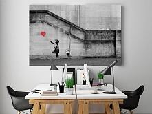 Banksy - Dziewczynka - nowo...