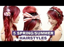 5 Hairstyles for Spring