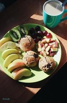 Muffinki z dżemem :) przepis w zdjęciu :)