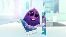 Interaktywna szczoteczka dla najmłodszych, która uczy jak prawidłowo pielęgnować zęby :)  Więcej informacji klikamy w fotkę :)