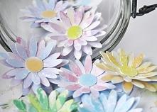 Scrapki kwiatki do dekoracji