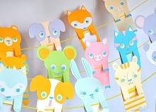 DIY stwórz swojego zwierzaka-zakładkę! Z naszych powycinanych elementów to dziecinnie proste. :) 16 rodzajów zwierzaków do wyboru na stronie Papierowego Potwora.