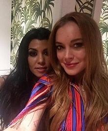 Lol OmG! Czy ktoś wiedział, że Lindsey Lohan i Koutrney Kardashian są przyjac...