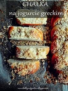 Chałka na jogurcie greckim
