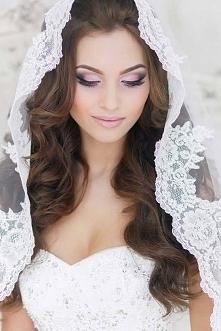piękny makijaż ślubny :)