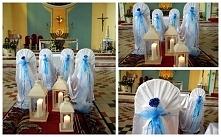 dekoracja na niebiesko