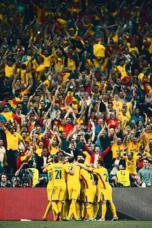 reprezentacja Rumunii podczas wczorajszego meczu