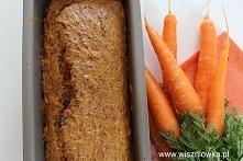 Ciasto marchewkowe bez cukru.