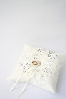 poduszka + księga gości