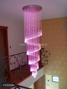 Oświetlenie schodów lampami...