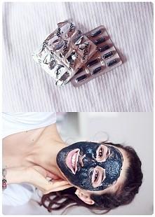MASECZKA OCZYSZCZAJACA!!! Węgiel aktywnystosowany w kosmetyce ma właściwości...