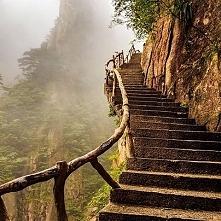 Schody do Nieba... - Huangshan, Chiny ❤