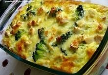 POMYSŁ NA OBIAD! Ryżowa zapiekanka z kurczakiem i brokułami! POMYSŁ NA OBIAD! Ryżowa zapiekanka z kurczakiem i brokułami! Składniki na 4 porcje: szklanka ryżu długoziarnistego 2...