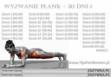 Wyzwanie- plank