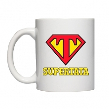 Kubek Supertata - prezent dla Dzień Ojca