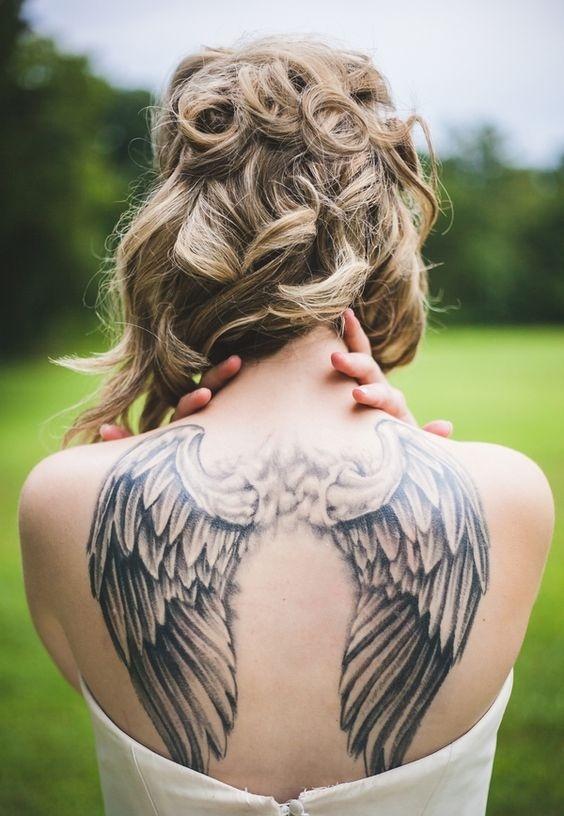 Tatuaż Skrzydła Anioła Hit Sprzed Lat Ale Wciąż Popularny