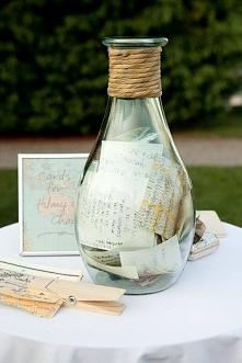 listy od gości weselnych :)