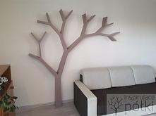 Półka jak drzewo 210x210x18cm Nasza realizacja Więcej szczegółów facebook.com...